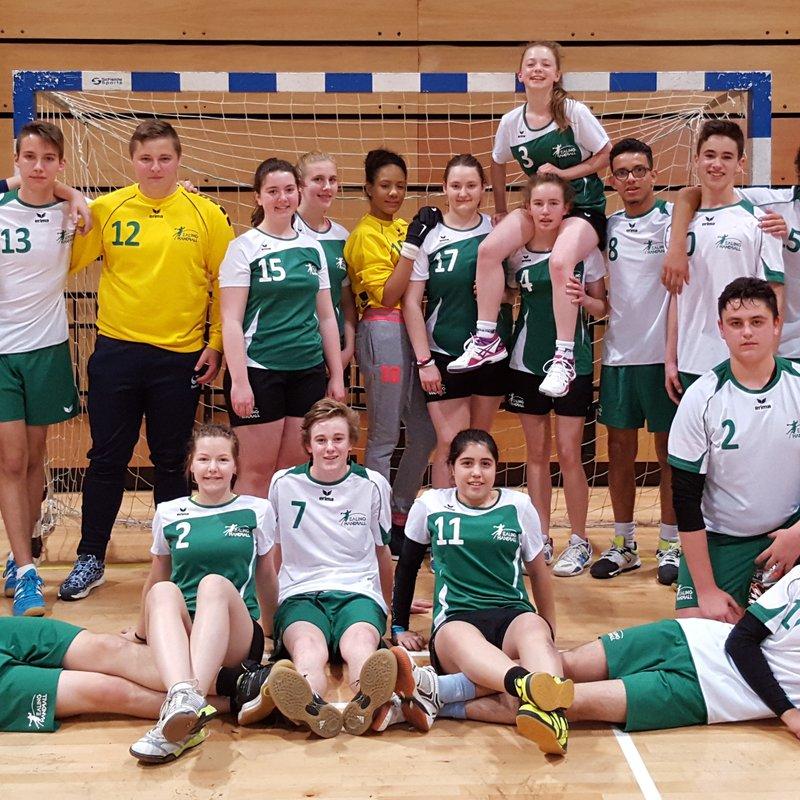 Ealing Handball teams through to U18 play-offs