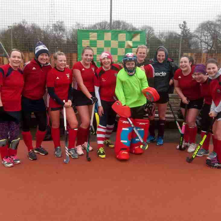 Ladies' 4s secure a great victory.