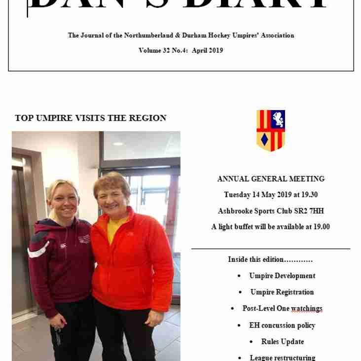 DaN's Diary April 2019
