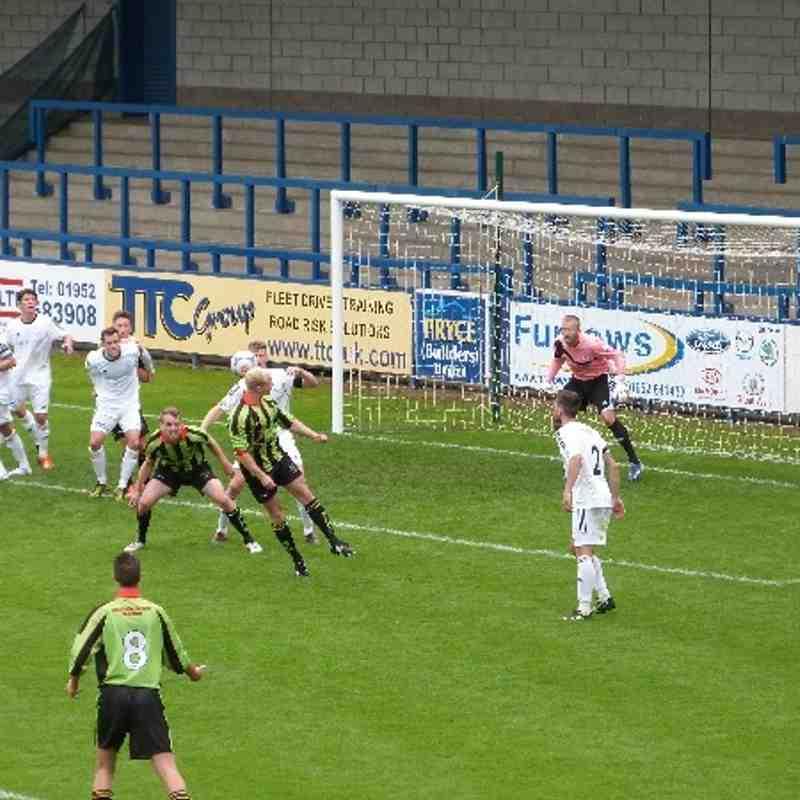 AFC Telford v. Workington AFC - Sat 17 Aug 2013