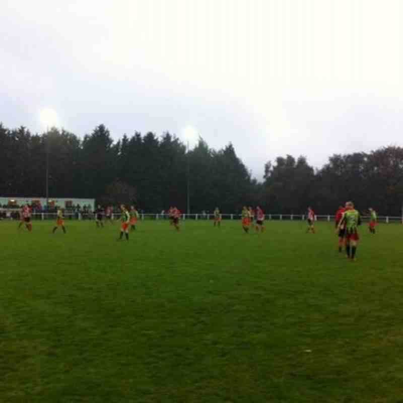 Guisborough Town v. Workington AFC - Sat 12 Nov 2013