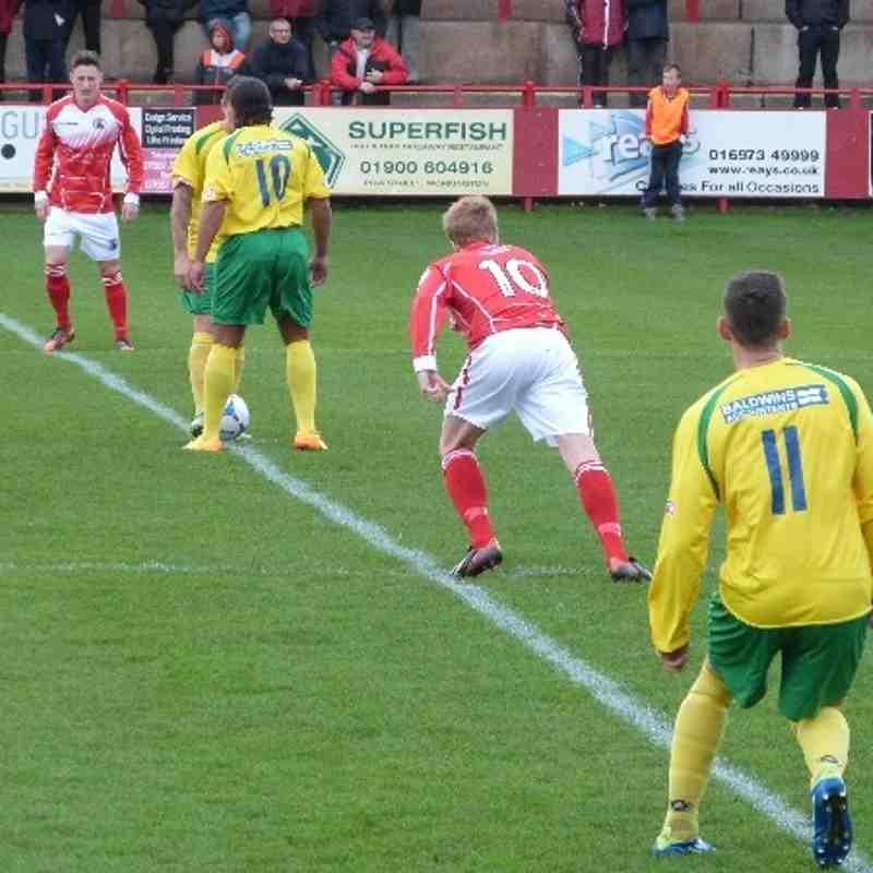 Workington AFC v. Stourbridge FC - Sat 26 Oct 2013