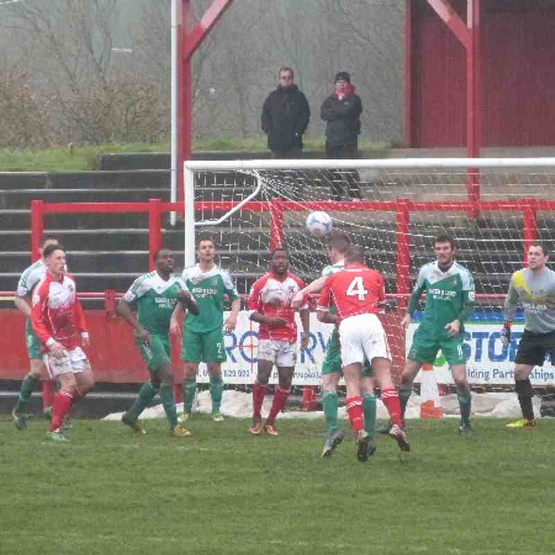 Workington AFC v. Bradford Park Avenue - Sat 5 Apr 2014