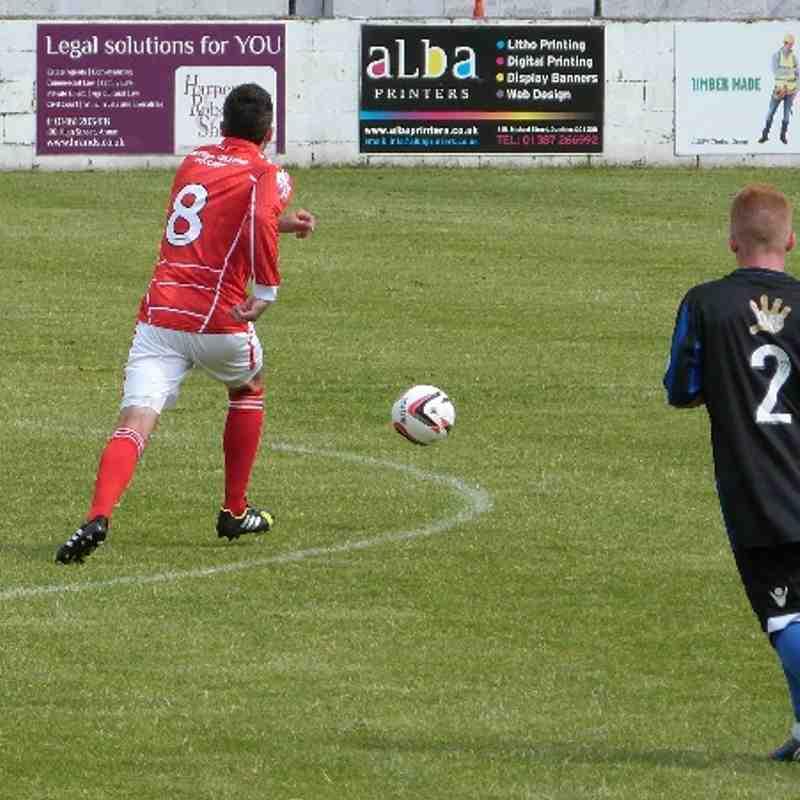 Stirling Albion v. Workington AFC - Sat 12 July 2014