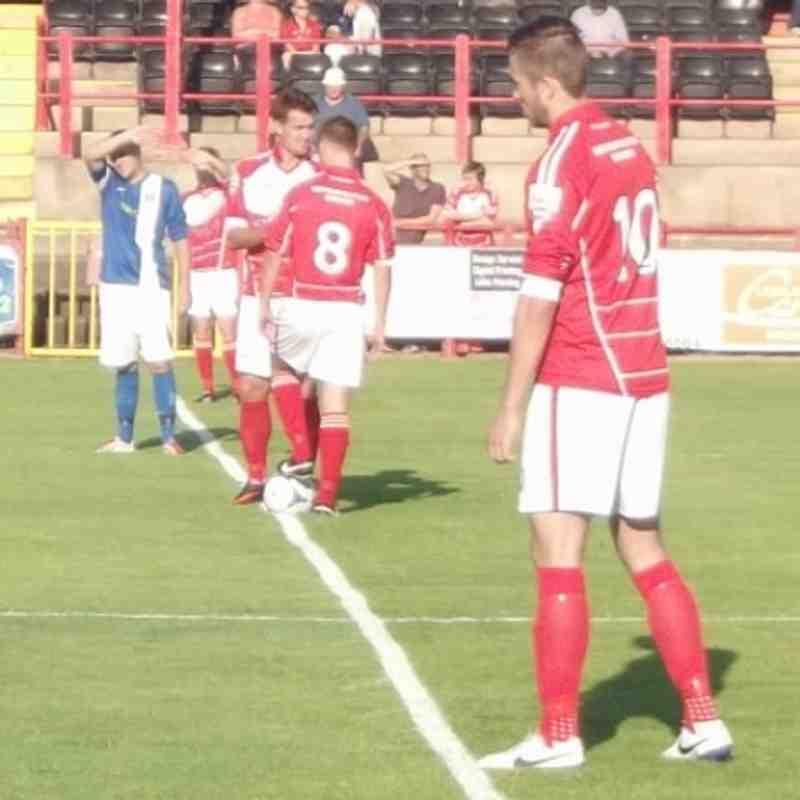 Workington AFC v. Penrith AFC - 22 July 2014