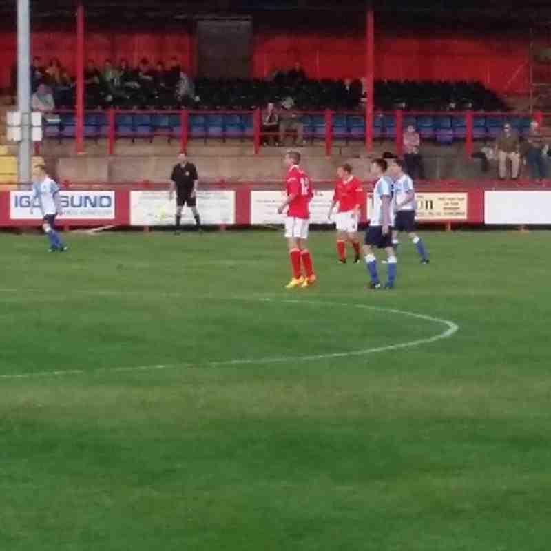 Workington AFC v. Blackburn Rovers U21s - Tuesday 5th August 2014