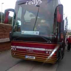 Bus for Salford Game