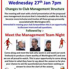 Meet the Management night