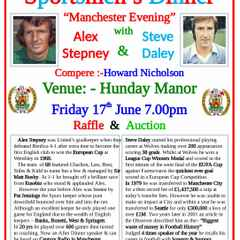 Enjoy a 'Manchester Evening' at the Hunday Manor