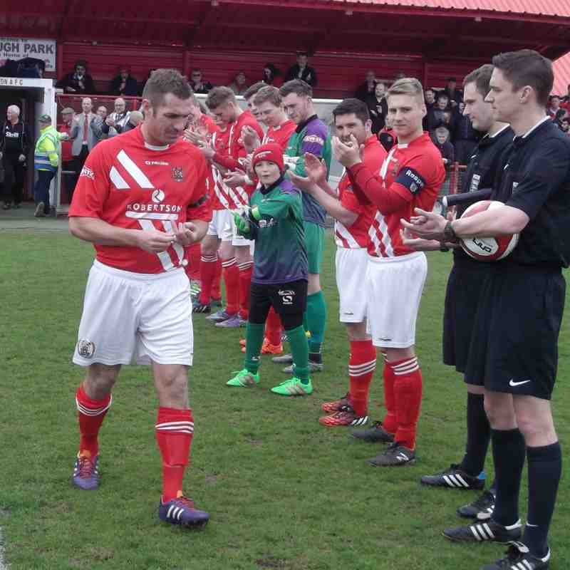 Workington AFC v. Buxton FC - Sat 23 April 2016