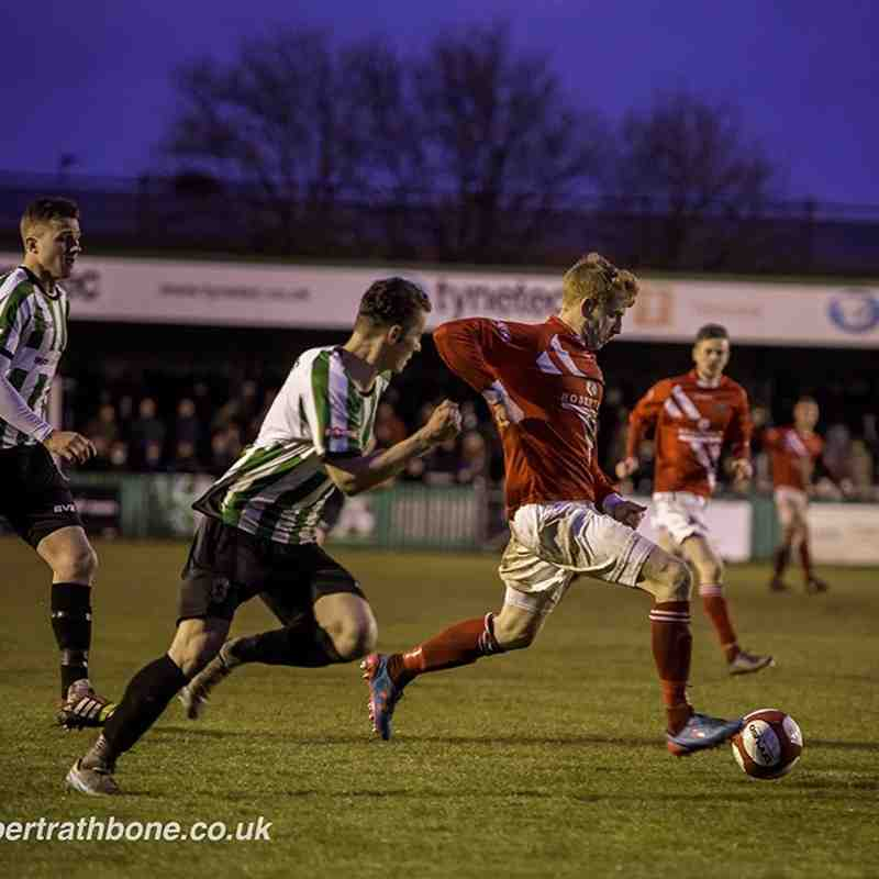 Blyth Spartans v. Workington AFC - Tue 26 Apr 2016