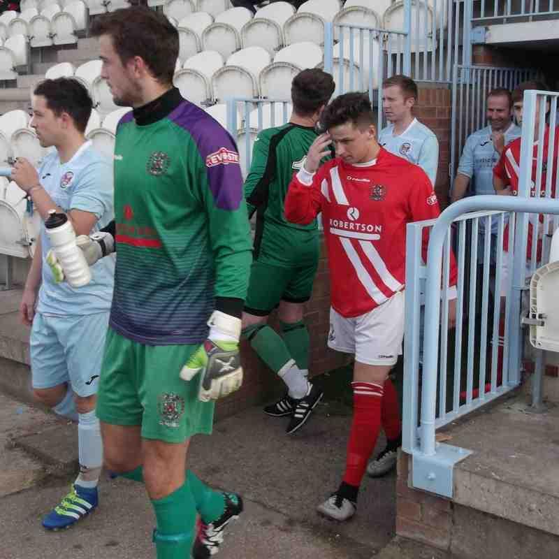 Carlisle City v. Workington AFC - Tue 12 July 16