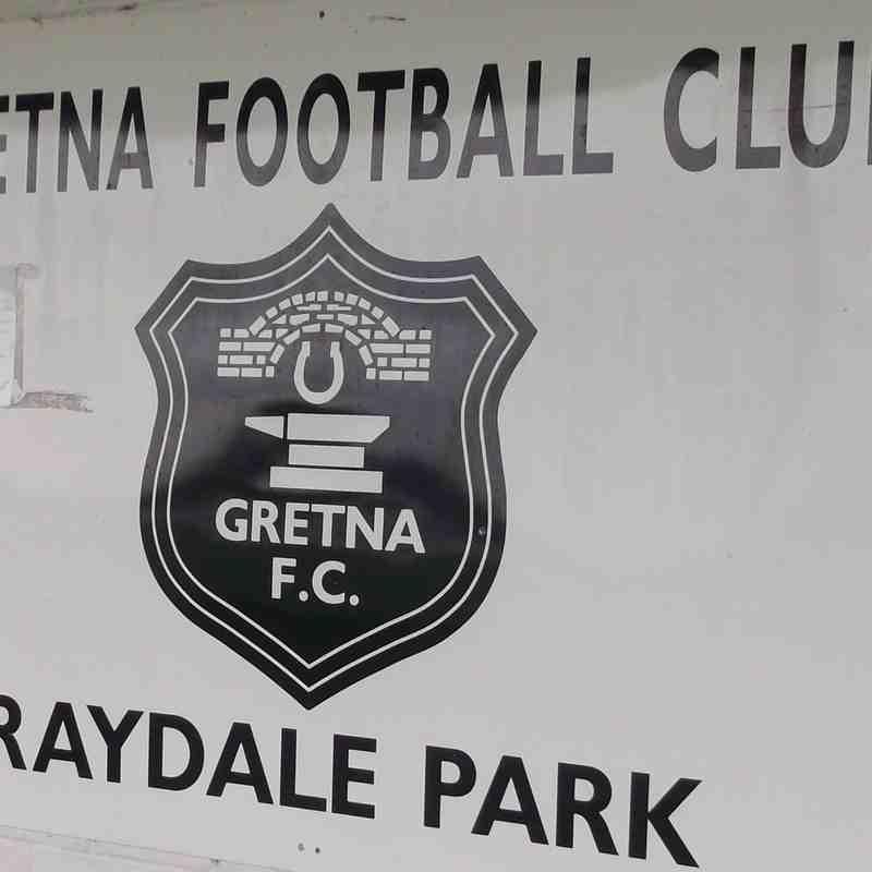 Gretna 2008 v. Workington AFC - Fri 15 July 2016