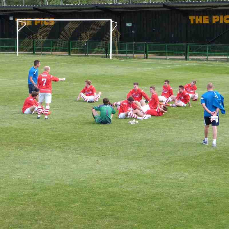 Rushall Olympic v. Workington AFC -  Sat 13 Aug 2016