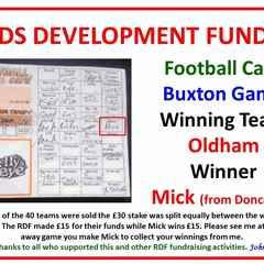 Buxton football card