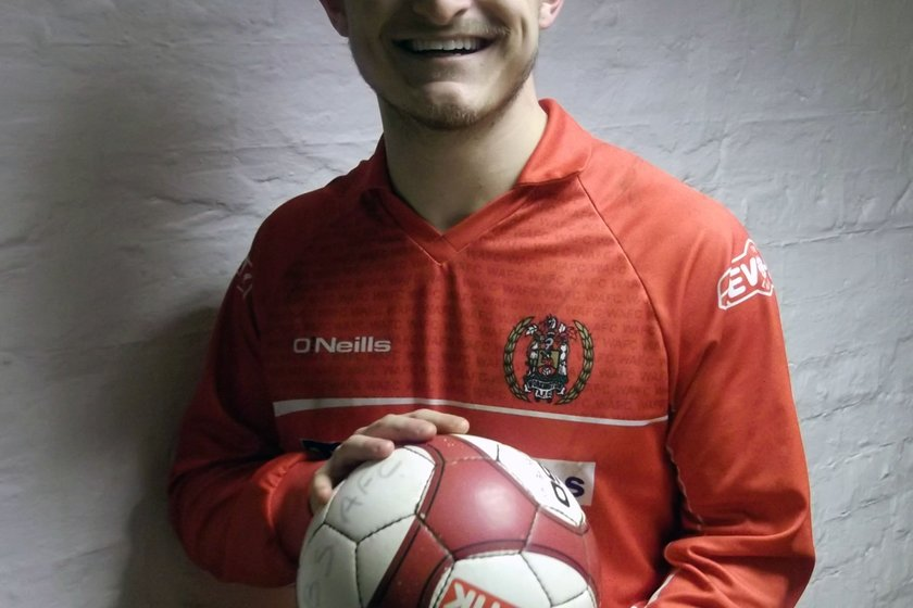 Stunning volley in an eight minute hat-trick for Symington