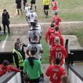 Early bath for James spurs Reds to victory