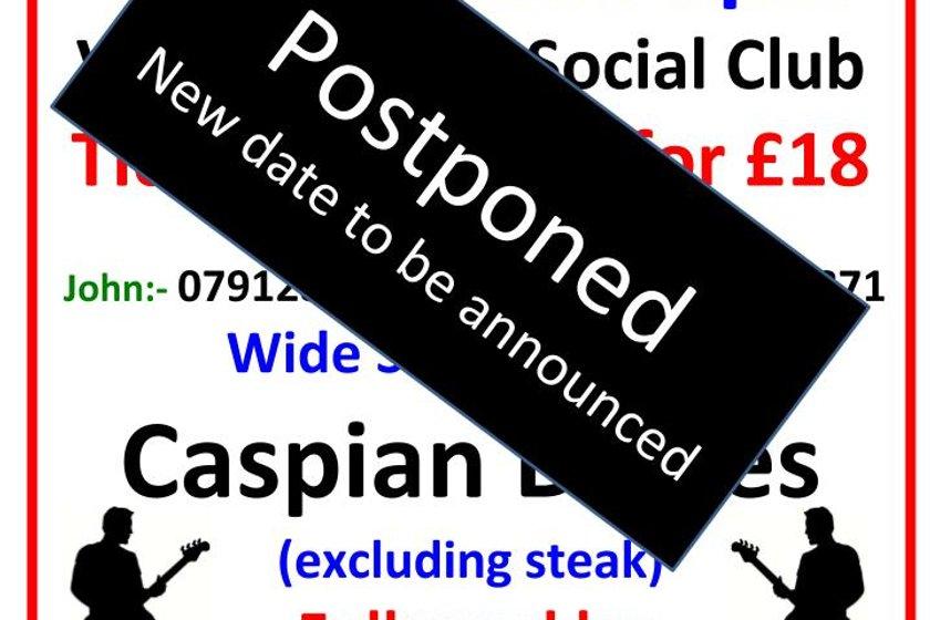 Caspian night - postponed