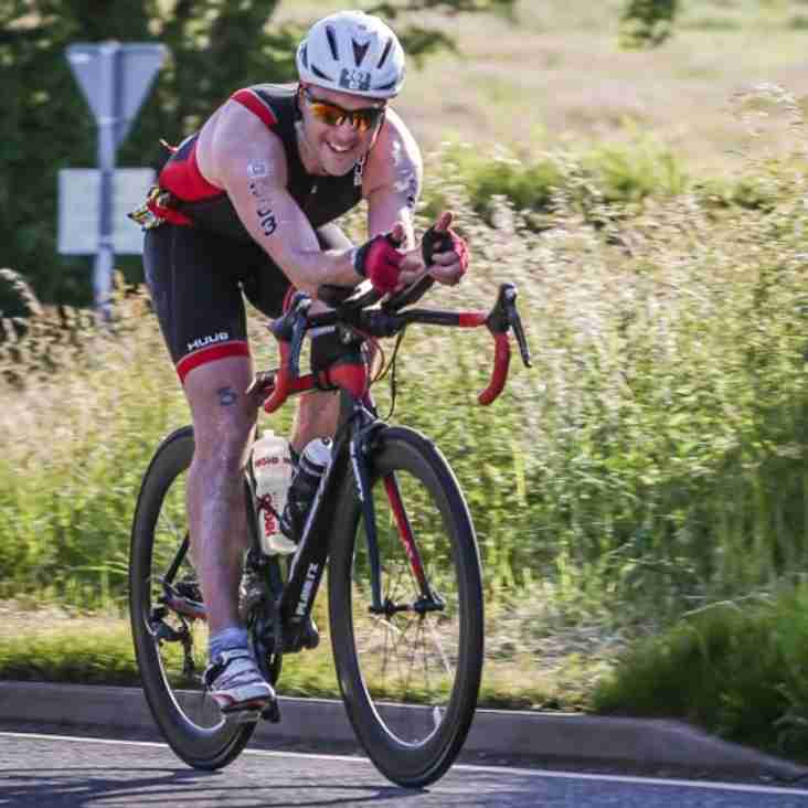On yer bike..........Wrighty excels in Lakesman challenge