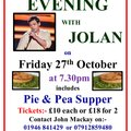 An evening with Jolan