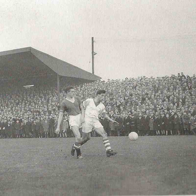 Workington AFC v. Manchester United - 4th January, 1958