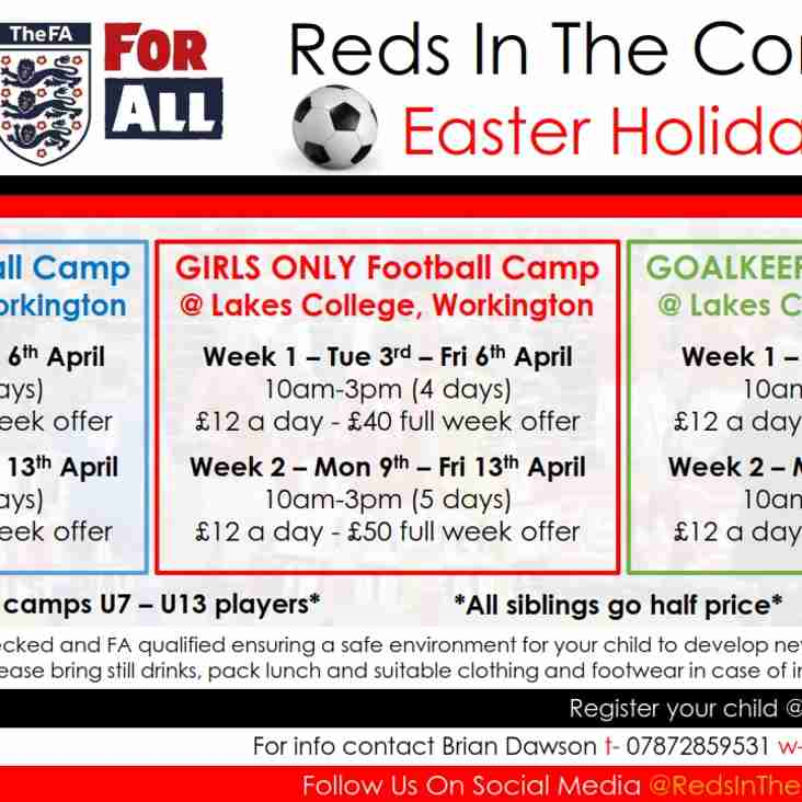 Easter Holiday Camps