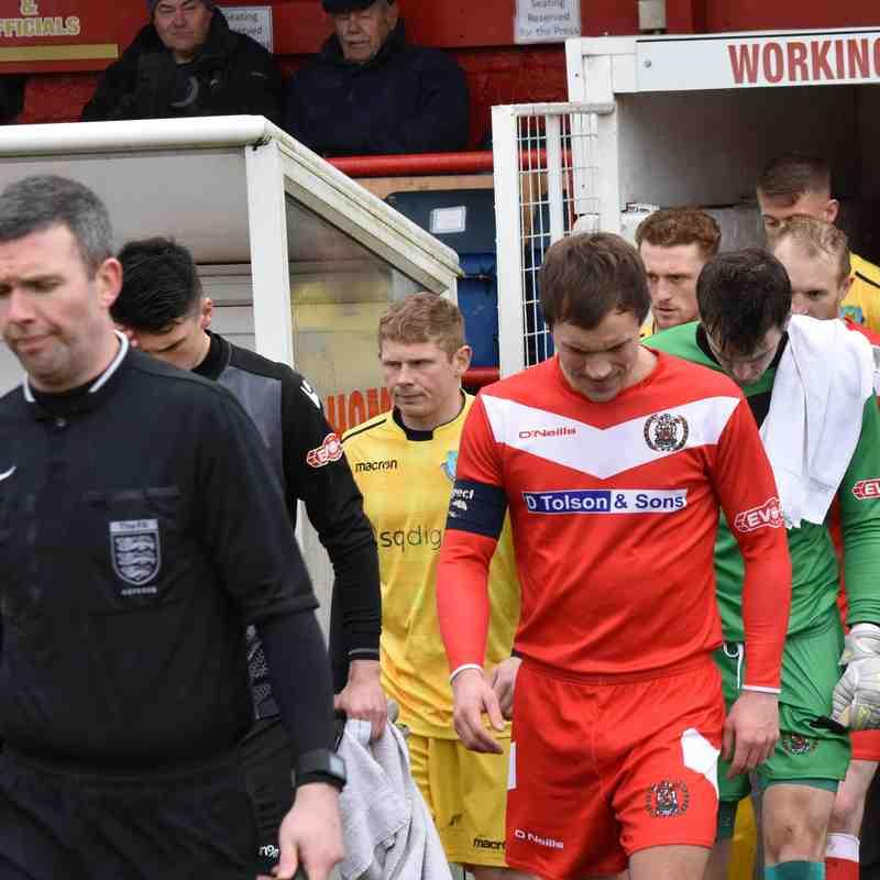 Workington AFC v Lancaster City - Mon 2 Apr 2018 (Ben Challis)