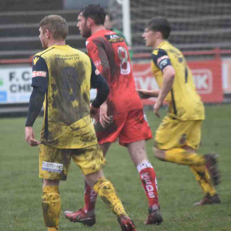 Workington AFC v Lancaster City - Mon 2 Apr 2018 (Ben Challis)