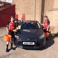 Reds Juniors U14s car wash