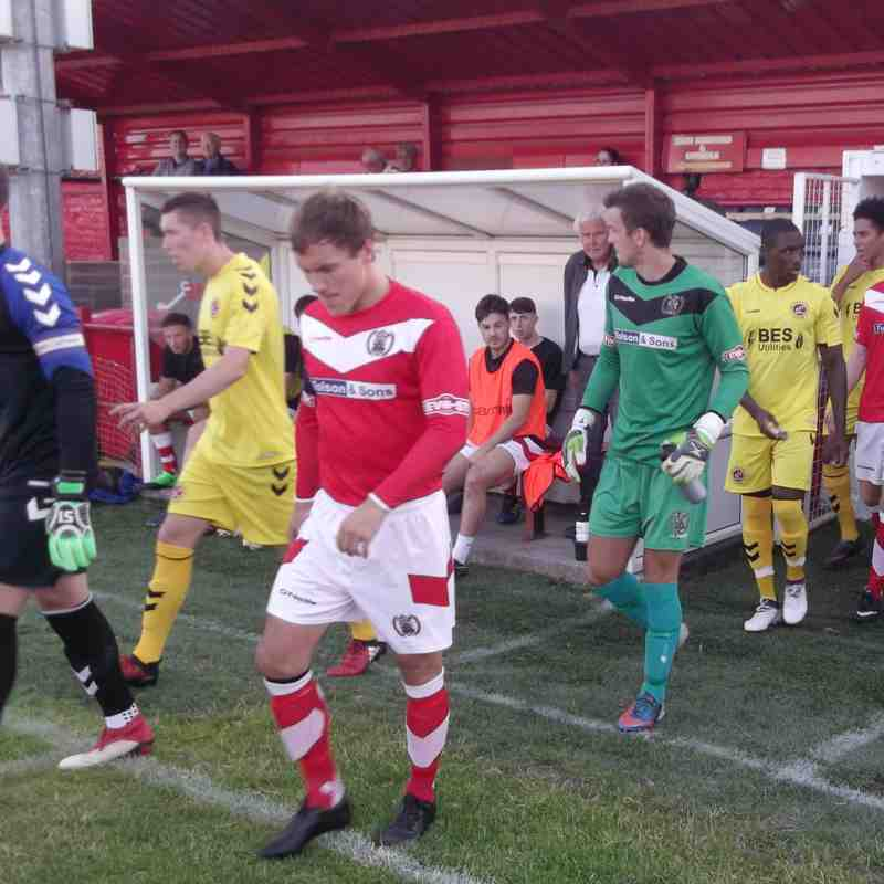 Workington AFC v. Fleetwood Town U23s - Tue 17 Jul 2018 (Ben Challis)