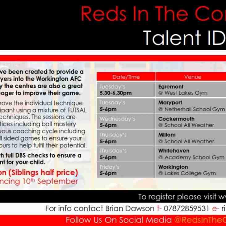 Talent ID Centres
