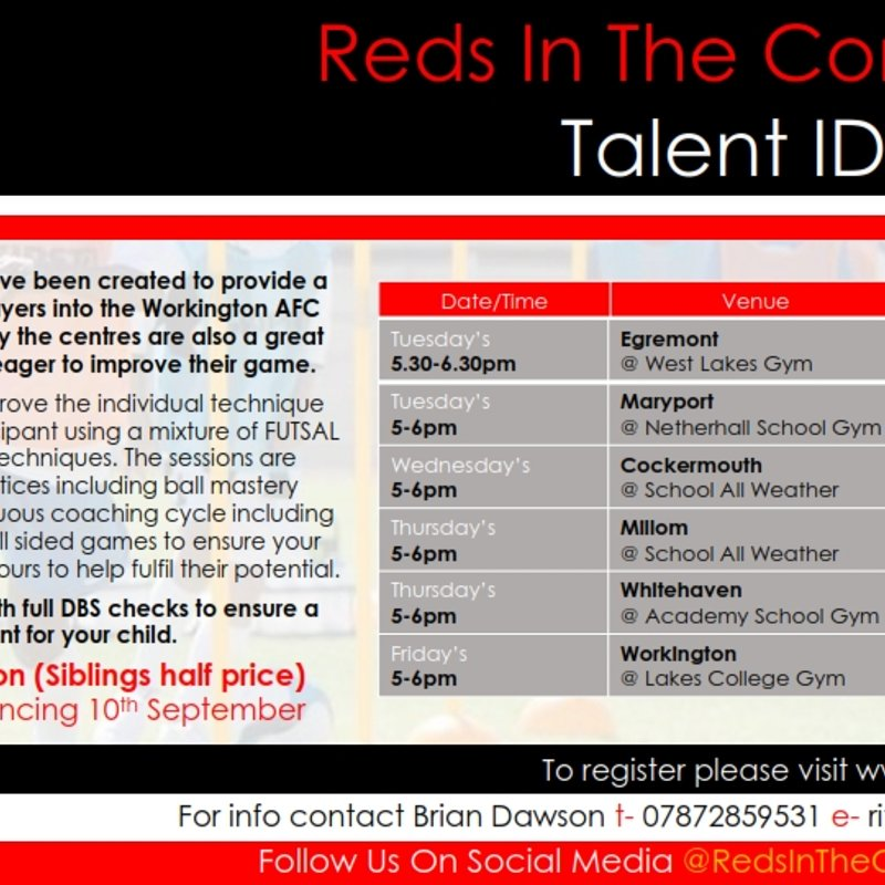 Talent ID Centres