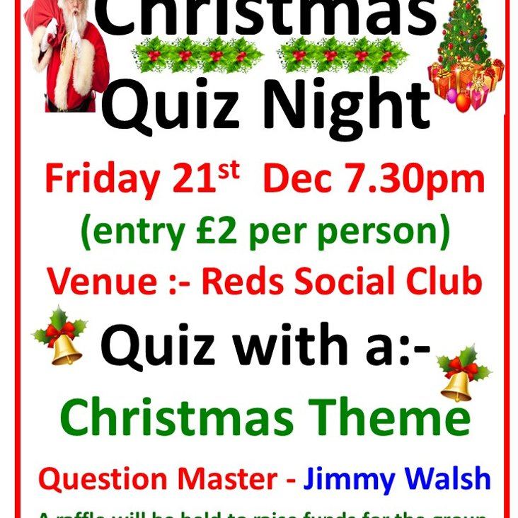 Christmas Quiz night<