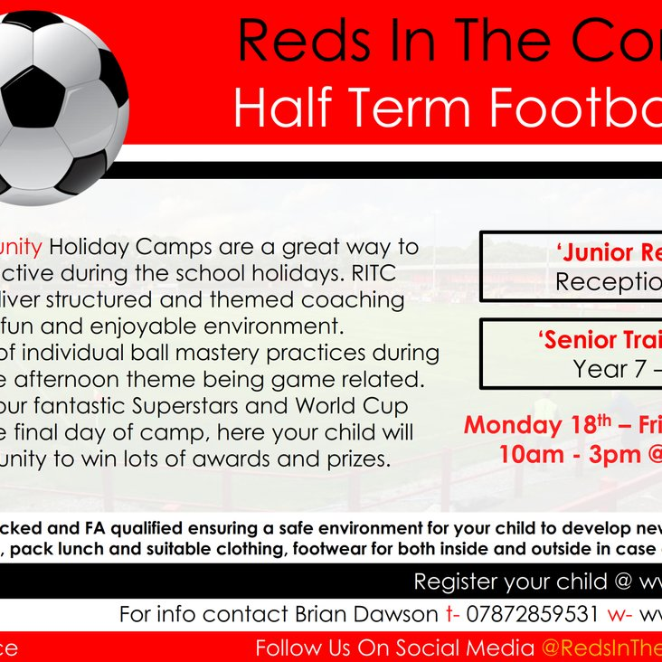 February Half Term Camps<