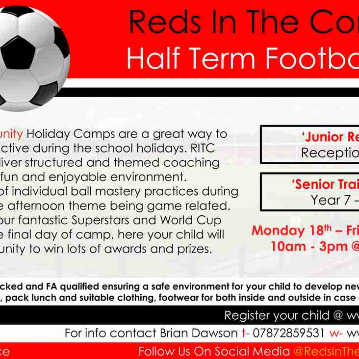February Half Term Camps