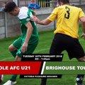 Goole U21 vs. Brighouse Town AFC U21