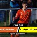 U21 beat Ossett Albion U21 1 - 0