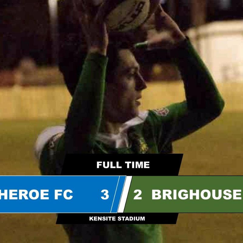 Clitheroe 3-2  Brighouse Town