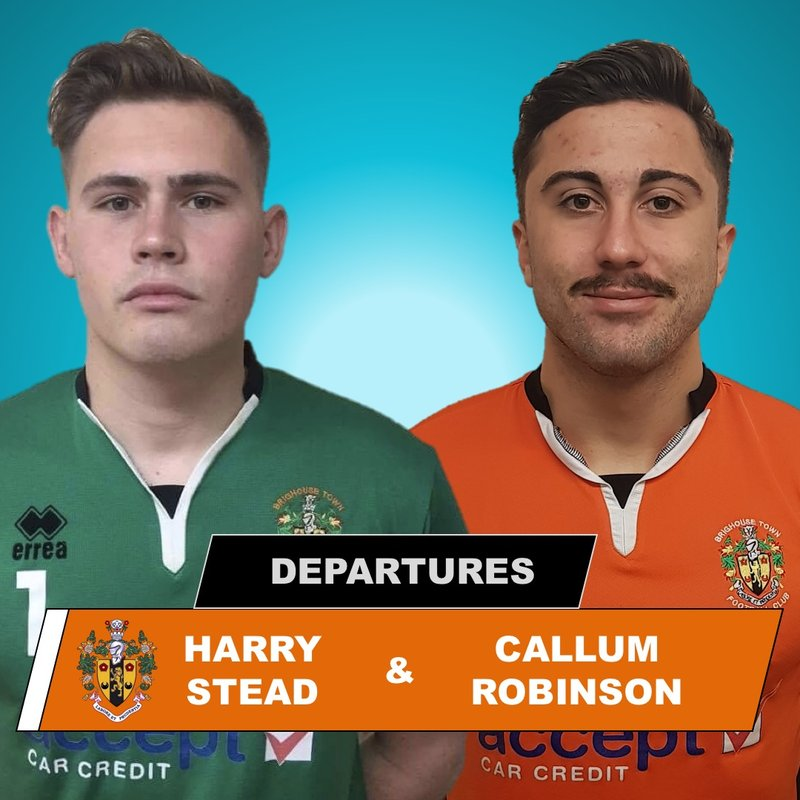 ANNOUCEMENT   Stead And Robinson Leave Town