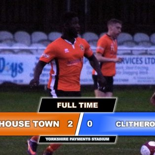Brighouse Town 2-0 Clitheroe FC