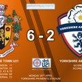 U23 beat Yorkshire Amateur U21 6 - 2