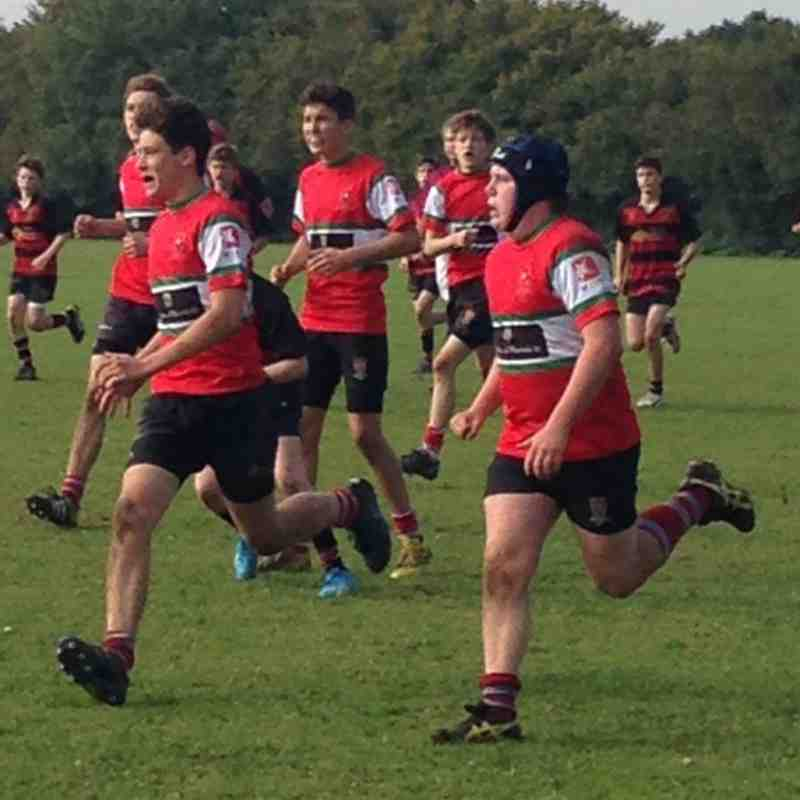 U15 v Alton - 11th October 2015