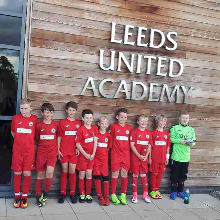 U11's Telec invade Leeds United Academy