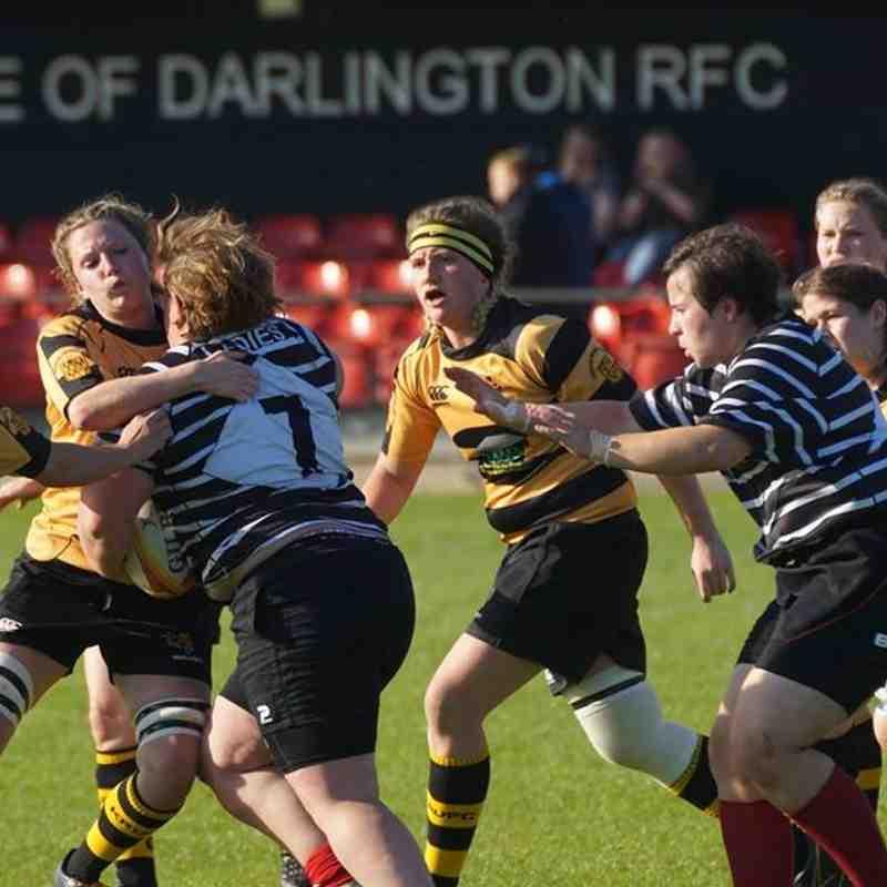 Wasps 40 - 15 Darlington Ladies