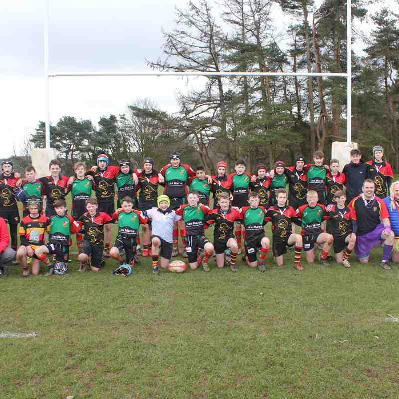 Nantyffyllon rugby Tour 2018