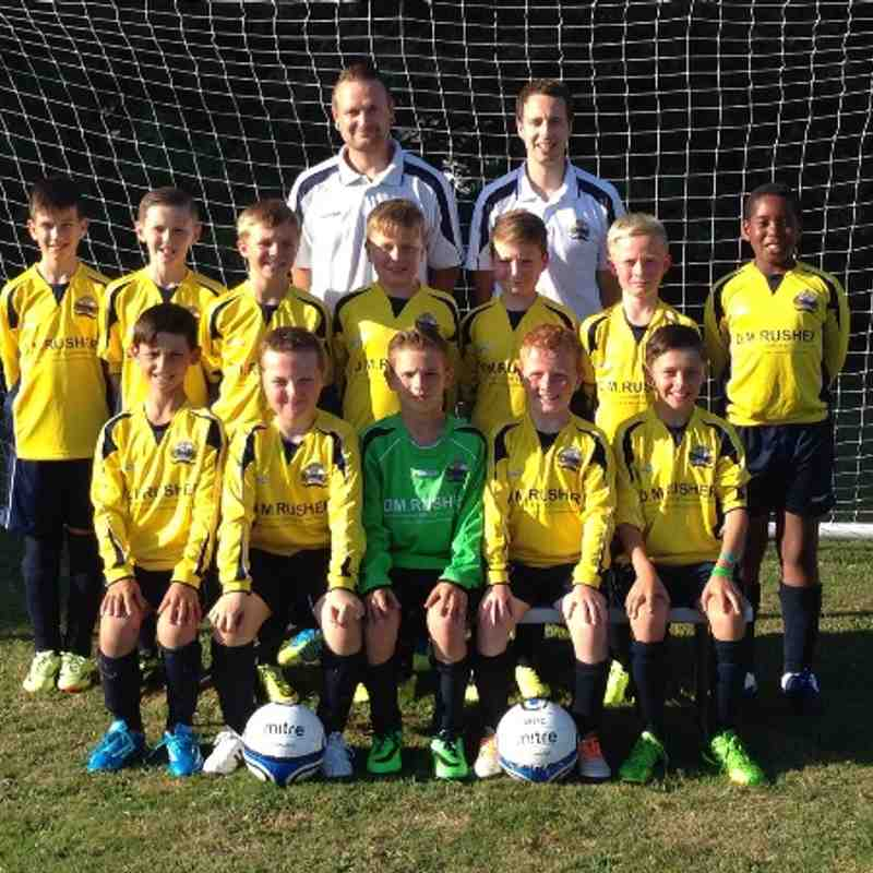 U11's Tigers Various Pictures 2014/15