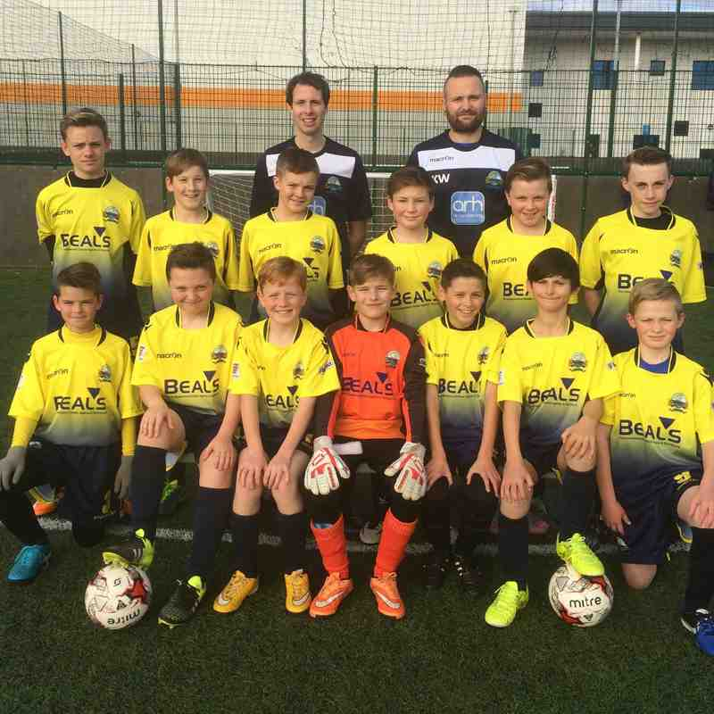 Gosport Borough Youth FC U12 Tigers 2015/16