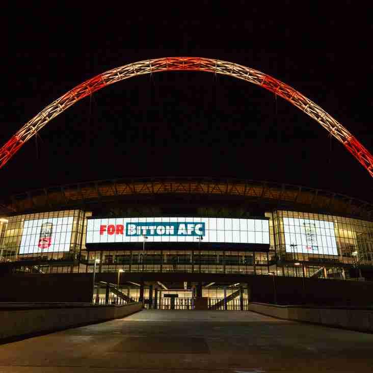 Name In Lights - Wembley Stadium