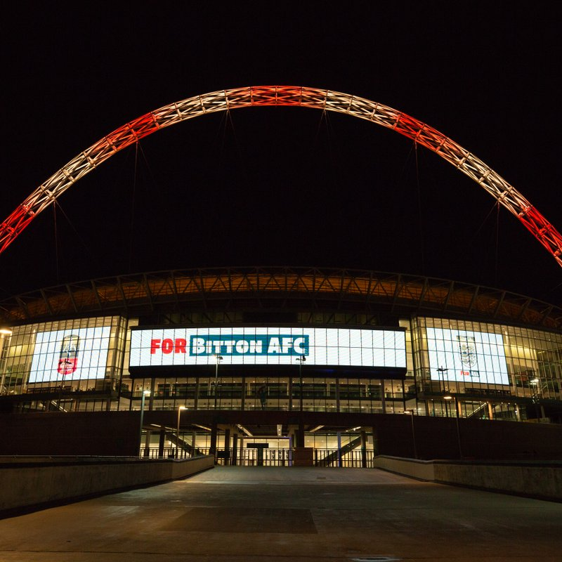 Name In Lights - Wembley Stadium