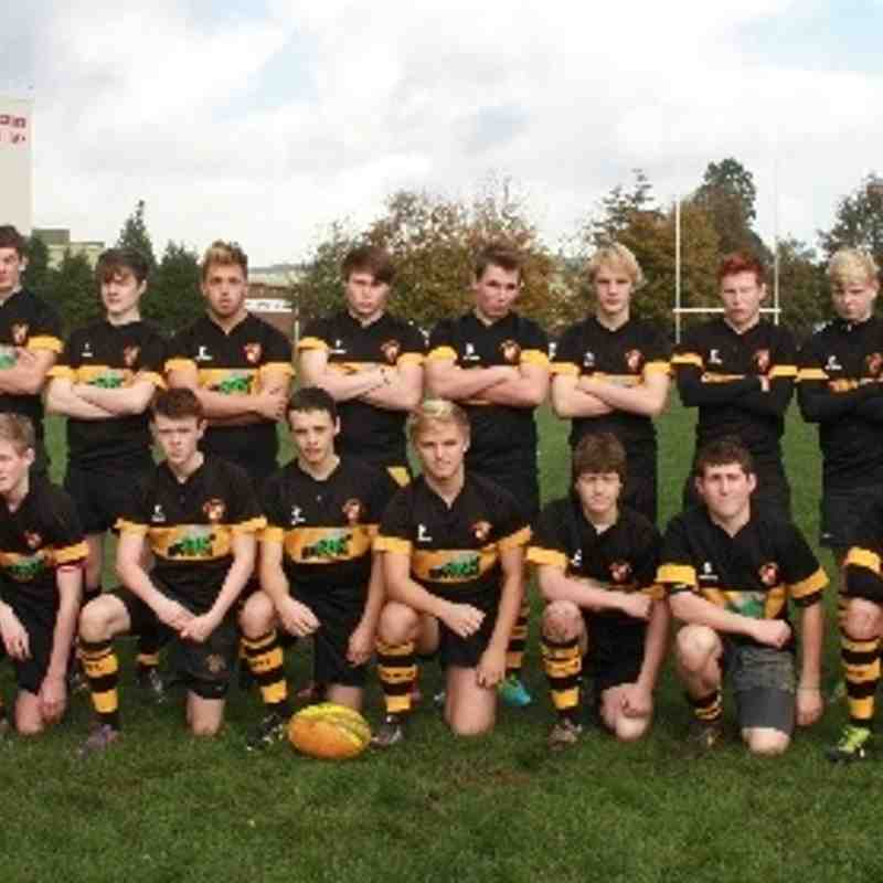 Kendal U 17's team & Officials